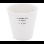 Plint Poesie Becher mit Gedicht 'Zonder iets te willen''