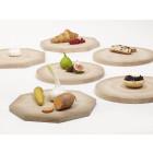 Shades of Plates Käseplatte und Teller aus Holz – Rijksmuseum