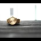 Piet Hein Eek Armbanduhr S38 von LEFF Amsterdam in Edelstahl oder Messing