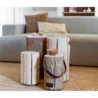 Wood Light Lampe Kirschholz in Large oder Medium