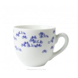 Delfts Blauw Vaas De Blauwe Fiets nr. 3  - een prachtig cadeau te koop bij shop.holland.com