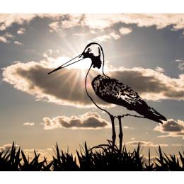 Metalbird metalen vogel IJsvogel voor in de tuin