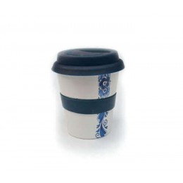 Coffee to go beker van Royal Goedewaagen in Delfts blauw bij Holland Design & Gifts: origineel cadeau idee