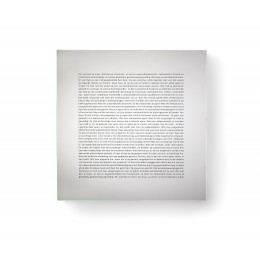Design Spiegel mit Text Goods Mirror, Mirror L