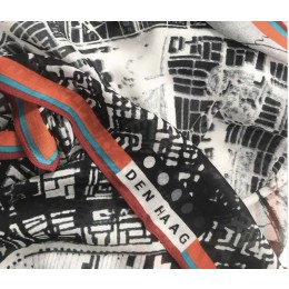 Stadt-Schal Barentsz Urban Fabric Stadtkarte