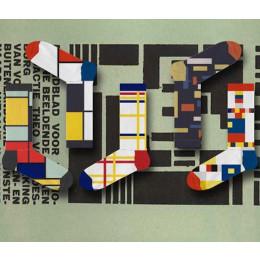 ON Socks Mondriaan en De Stijl sokken - leuk cadeau voor hem