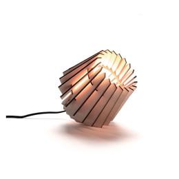 Homeware, Beleuchtung, hölzerne Do-it-yourself Designlampe von Tjalle und Jasper, Baupaket