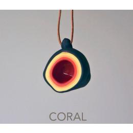 wOrk Cup ketting in de kleur Coral van Olav Slingerland bij Holland Design & Gifts: leuk cadeau