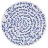 Delfter Blau Porzellan Diskus Teller von Royal Delft