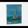 Geschenktipp: Notizbuch A5  Blick auf das Meer von Van Gogh