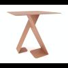 Vorderseite Dance Tisch rotbraun