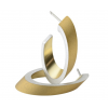 Clic Ohrringe O21G in gold aus Aluminium finden sie am shop.holland.com