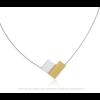 Halskette C150G in gold und silber von Clic by Suzanne finden Sie natürlich auf shop.holland.com