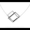 CLIC C30B Halskette in blau und silber Aluminium kaufen Sie unter shop.holland.com