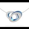 Clic C70B Halskette Blau und silber am shop.holland.com