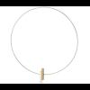 Clic C116G Halskette in gold und silber Aluminium am shop.holland.com