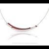 Clic Halskette C74R Silber mit Rot von Clic by Suzanne unter shop.holland.com