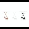 Dance Tisch von ignore - anthrazit, weiß oder rotbraun