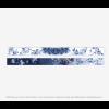 Hendrik' Schal Who is afraid of blue - 100% Seide 15x200cm - ein schönes Geschenk