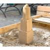 Sandmarks Sandkastenspielzeug - Sandform Domturm Rot 40cm