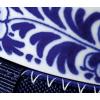 Delfter Blau Blumen-Design ziert die blauen Kragenflasche Nr. 3 im Holland Design & Gifts