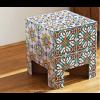 Dieser Dutch Design Hocker oder Stuhl Fliesen ist aus FSC-zertifizierter Pappe hergestellt.
