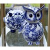 Pols Potten Spardose Eule aus Delfter blau Porzellan unter shop.holland.com