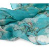 Ein schönes Geschenk - Seide Schal Mandelblüte von Van Gogh