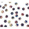 Die Teile der Kette ähneln kleine Sternen