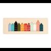 Cre8 Kanal-Häuser Wandgestaltung mit 11 verschiedenen Farben Plexiglas