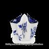 Hendrik' Faltvase mit Schnürsenkel Delfter Blau Groß