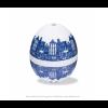 Delfter Blau PiepEi Eier Uhr von Brutus Kookt  - ein perfektes Oster gadget unter shop.holland.com