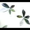 Wandsticker Blätter grün