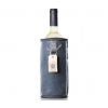 Design Weinkühler aus Schaffell: Wooler des Dutch Design Labels Kywie Modell UGG blau