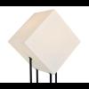 Eine Lampe, in der die Primärformen zentral sind.
