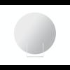 Spiegel Look rund weiß von Dutch design Marke Ignore