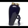 My Superhero Vase in Blau und Gold von Jasmin Djerzic unter shop.holland.com