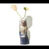 Paper vase cover Milchmädche Large - ein praktisches Geschenk für ihre Geschäftsbeziehungen