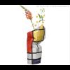 Paper vase cover Mondriaan Large - das perfekte Werbegeschenk