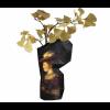 Paper Vase Covers Groß - Faltvase aus Papier mit das Portret von Saskia van Uylenburgh von Rembrandt van Rijn