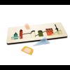 CRE8 Rotterdam Puzzle aus Plexiglas und Birkenholz - ein schönes Geschenk