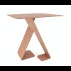 Hinterseite Tisch Dance rotbraun