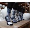 Delfter Blau Socken ON Socks & Royal Delft Set mit 5 verschiedenen Socken