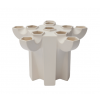 Tulpenvaas JvdV P1 in Weiß kaufen Sie bei Holland Design & Gifts