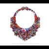 Die Classic Halskette Skulls von Iris Nijenhuis in Uni und Multi Farben - Laser geschnitten Kunstleder Uni und Multi Farben