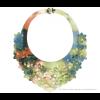 Die Classic Halskette Spring von Iris Nijenhuis in Uni und Multi Farben - Laser geschnitten Kunstleder Uni und Multi Farben