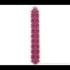 The Slim armband van Iris Nijenhuis in fuchsia roze scuba suéde bij shop.holland.com