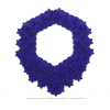 Die Superb Kette Kobalt und schwarz von Iris Nijenhuis in Uni und Multi Farben - Laser geschnitten Kunstleder
