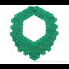 Die Superb Halskette grün und grau  von Iris Nijenhuis in Uni und Multi Farben - Laser geschnitten Kunstleder