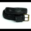 Pants Up Gürtel aus Fahrradreifen Schwarz oder Blau in den Größen M 90, L 100 und XL 110 cm x 4 cm breed